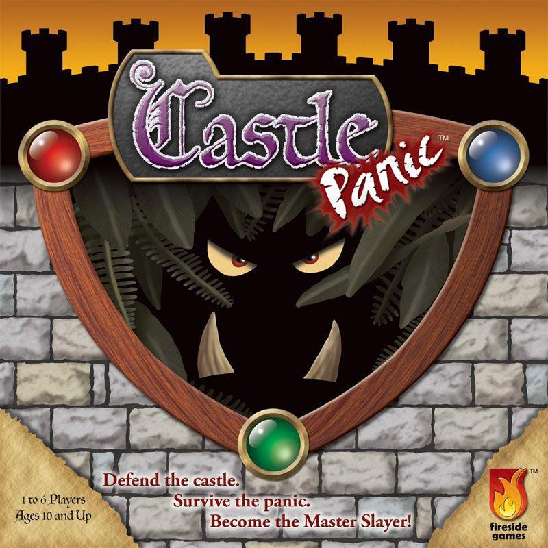настольная игра Castle Panic Замок Паника