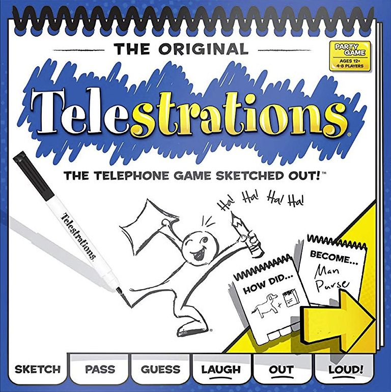 настольная игра Telestrations