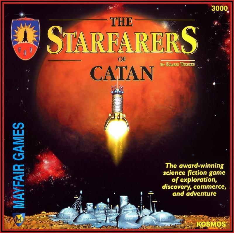 настольная игра The Starfarers of Catan Звездные жители Катана