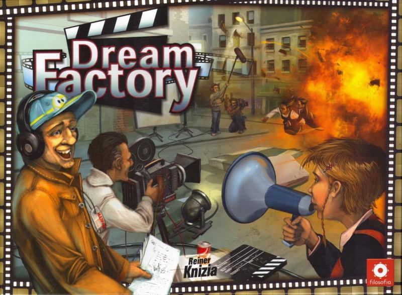 настольная игра Dream Factory Фабрика Снов