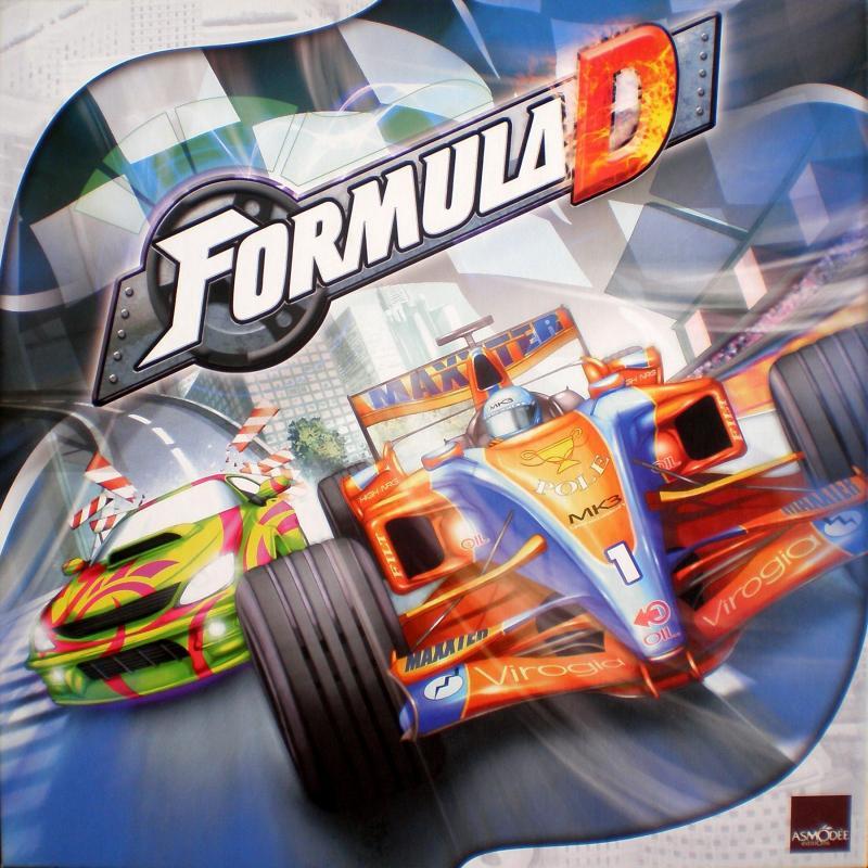 настольная игра Formula D Формула D