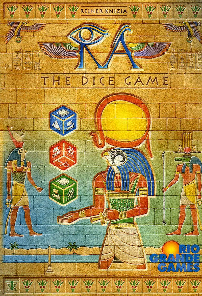 настольная игра Ra: The Dice Game Ра: Игра в кости