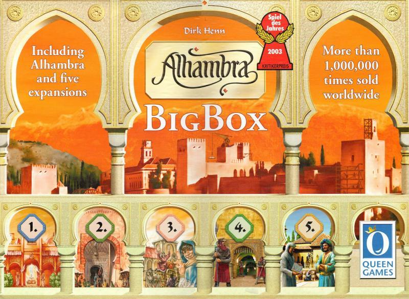 настольная игра Alhambra: Big Box Альгамбра: большая коробка
