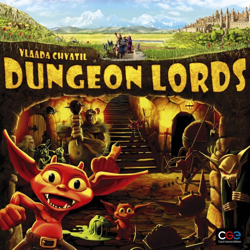 настольная игра Dungeon Lords Повелители подземелий