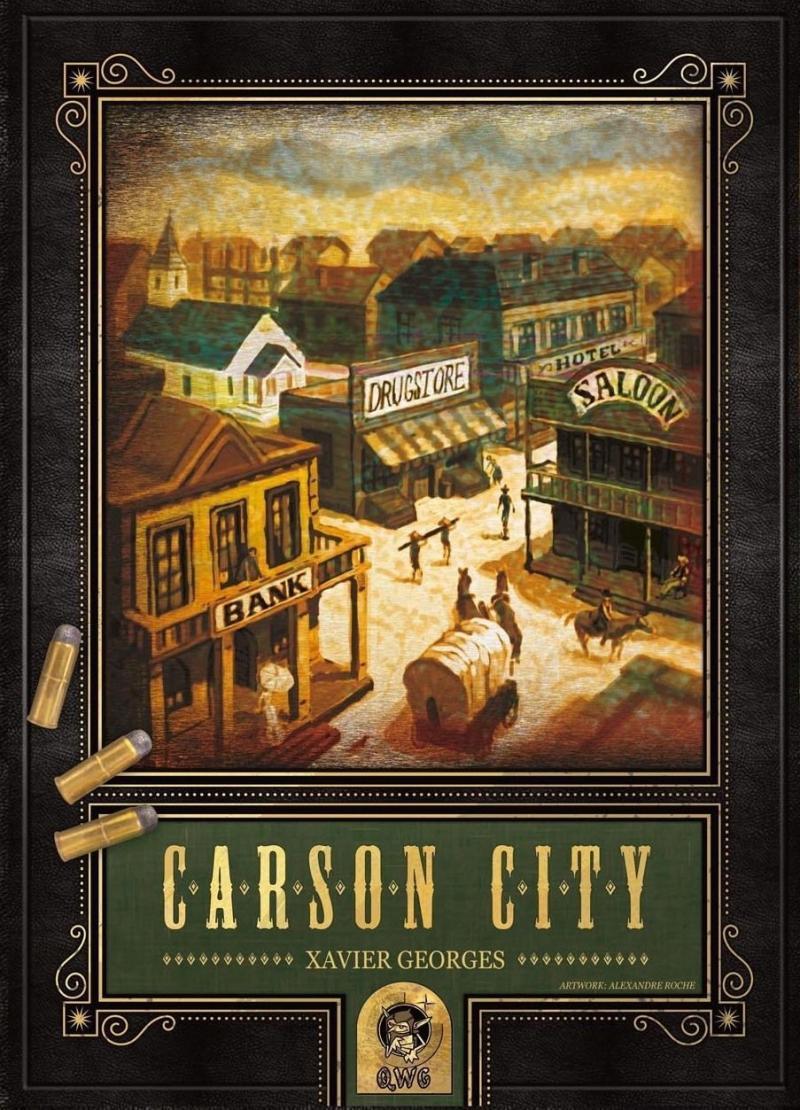 настольная игра Carson City Карсон Сити