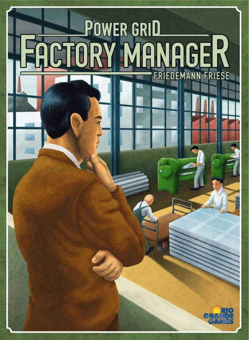 настольная игра Power Grid: Factory Manager Power Grid: менеджер фабрики