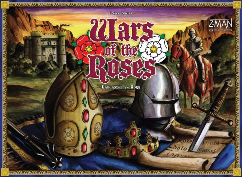 настольная игра Wars of the Roses: Lancaster vs. York Войны роз: Ланкастер против Йорка