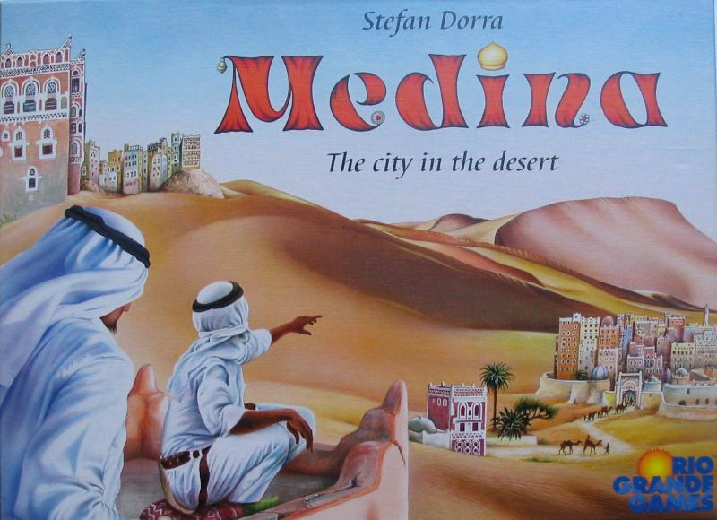 настольная игра Medina