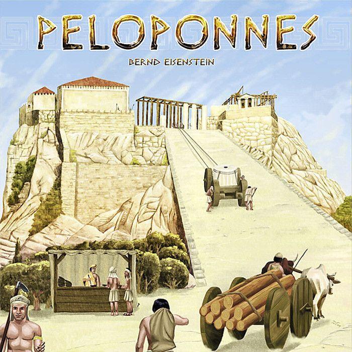 настольная игра Peloponnes Пелопоннес