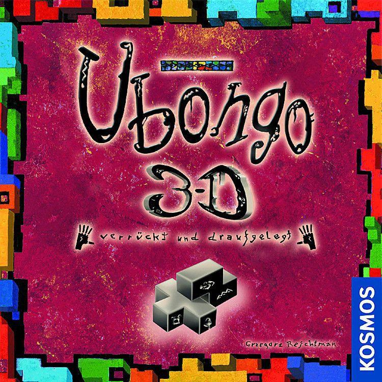 настольная игра Ubongo 3-D Убонго 3-D