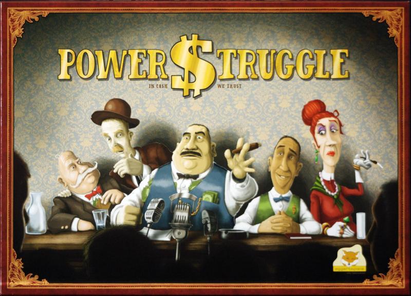 настольная игра Power Struggle Борьба за власть