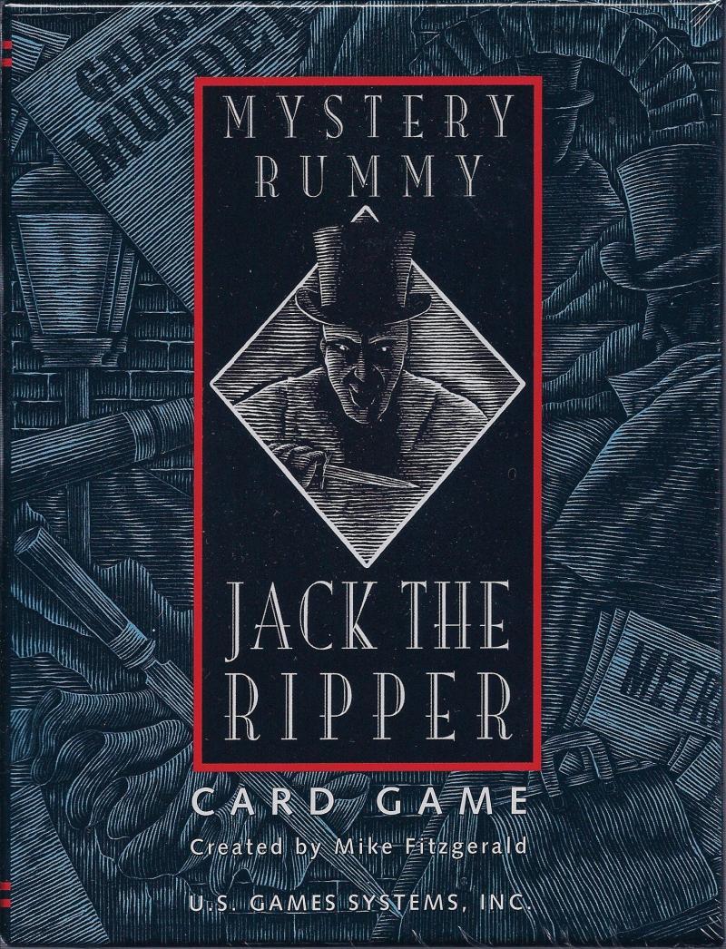 настольная игра Mystery Rummy: Jack the Ripper Тайна Рамми: Джек Потрошитель