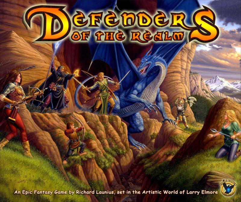 настольная игра Defenders of the Realm Защитники Царства