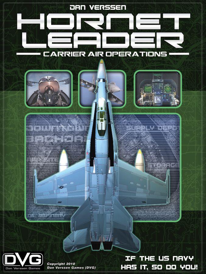 настольная игра Hornet Leader: Carrier Air Operations Hornet Leader: Авианосец