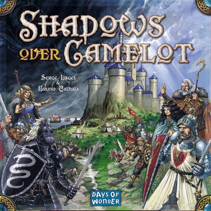 настольная игра Shadows over Camelot Тени над Камелотом
