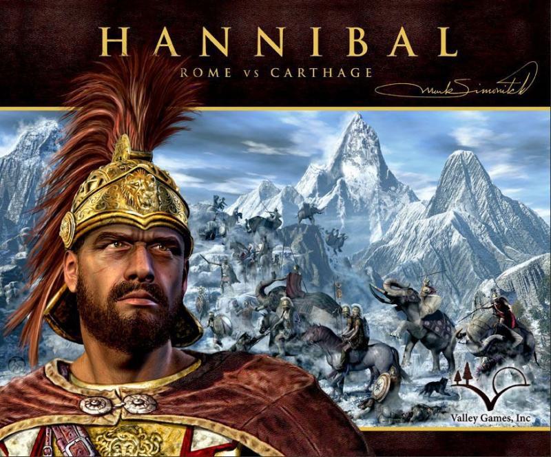 настольная игра Hannibal: Rome vs. Carthage Ганнибал: Рим против Карфагена