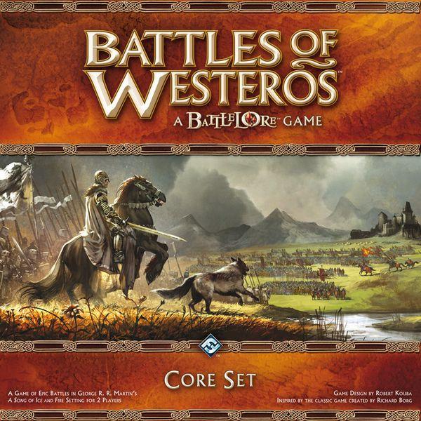 настольная игра Battles of Westeros Сражения при Вестеросе