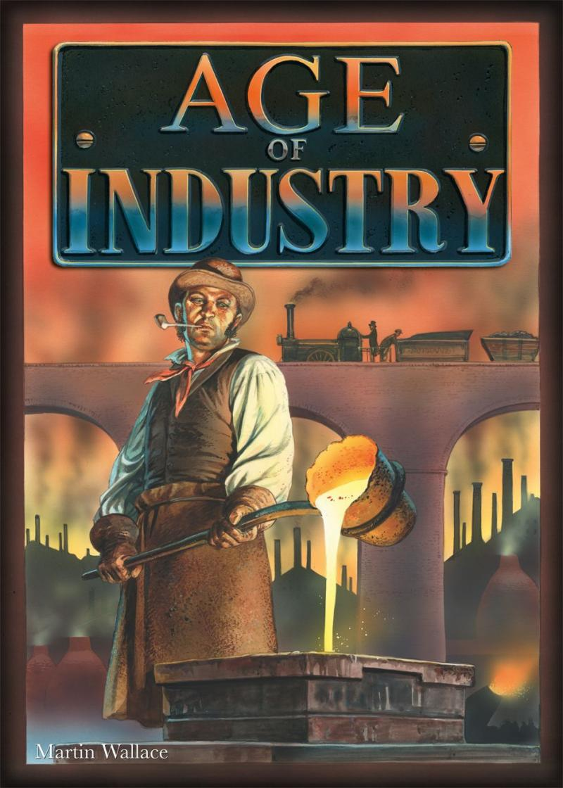настольная игра Age of Industry Возраст промышленности
