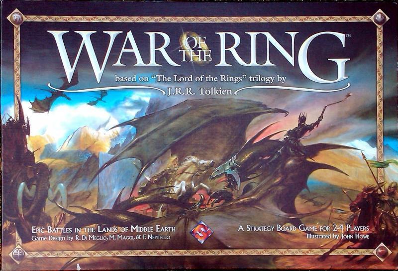 настольная игра War of the Ring Война Кольца