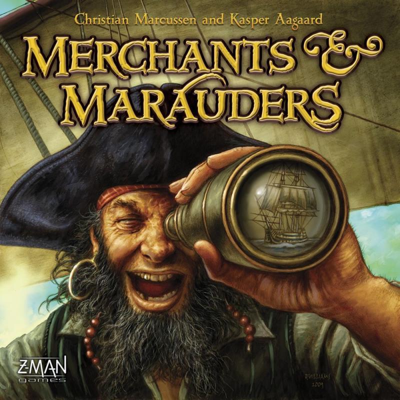настольная игра Merchants & Marauders Торговцы и Мародеры