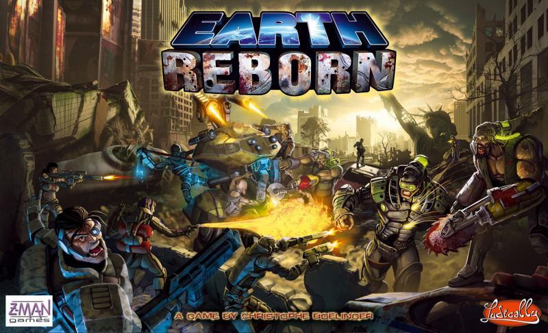 настольная игра Earth Reborn Земля Возрождается
