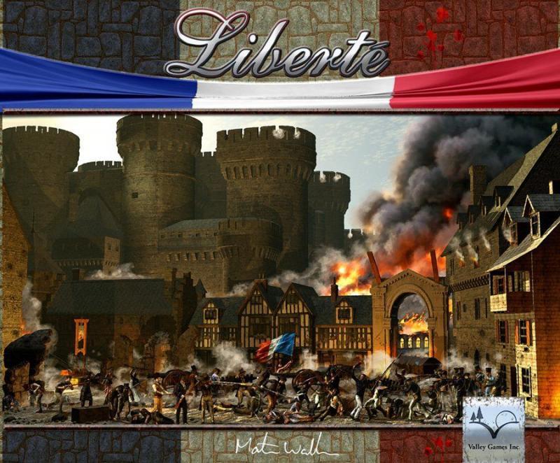 настольная игра Liberté Либерте