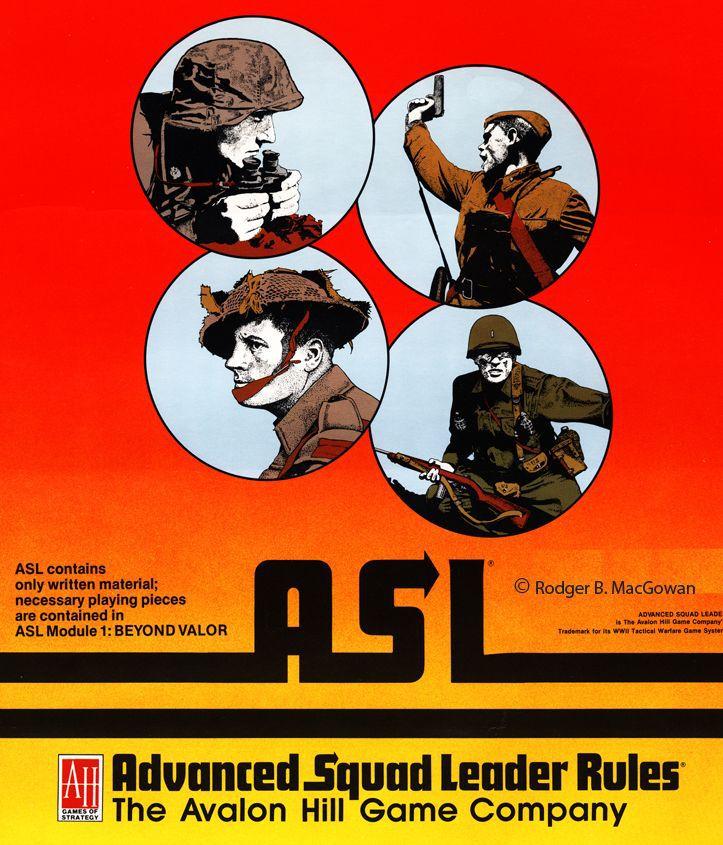 настольная игра Advanced Squad Leader Продвинутый Командир Отряда