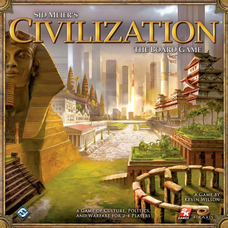 настольная игра Sid Meier's Civilization: The Board Game Цивилизация Сида Мейера: настольная игра