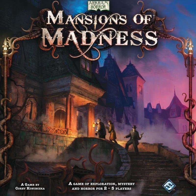настольная игра Mansions of Madness Особняки Безумия