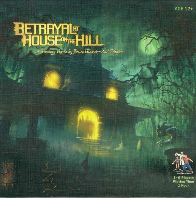 настольная игра Betrayal at House on the Hill Предательство в Доме на Холме