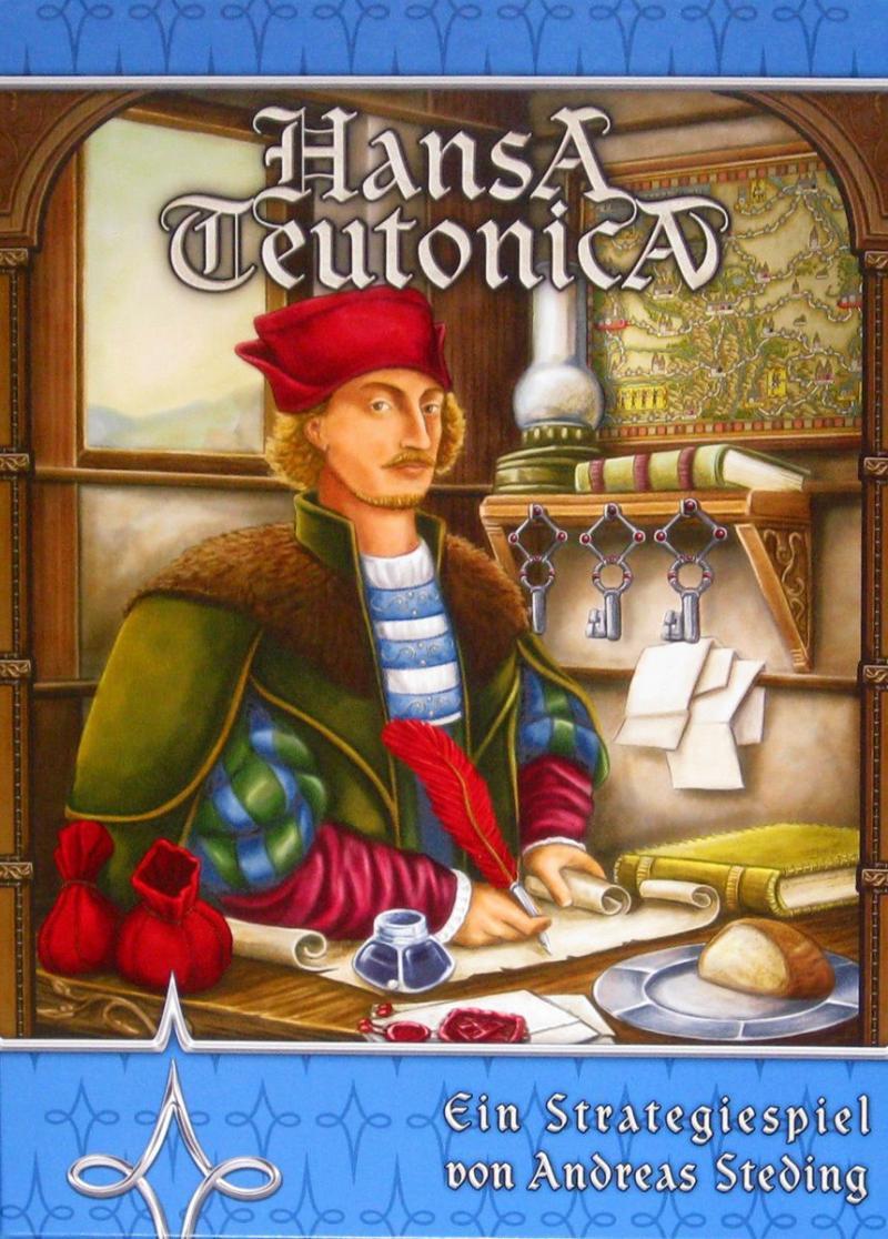 настольная игра Hansa Teutonica Ганза Теутоника