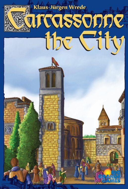 настольная игра Carcassonne: The City Каркассон: город
