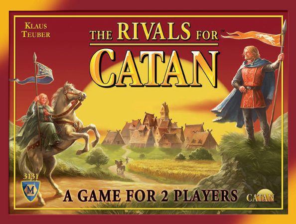 настольная игра Rivals for Catan Соперники для катана