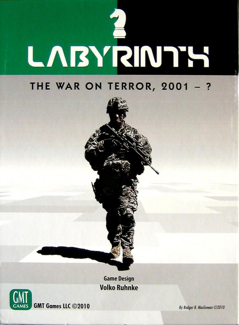 настольная игра Labyrinth: The War on Terror, 2001 – ? Лабиринт: война с террором, 2001 -?
