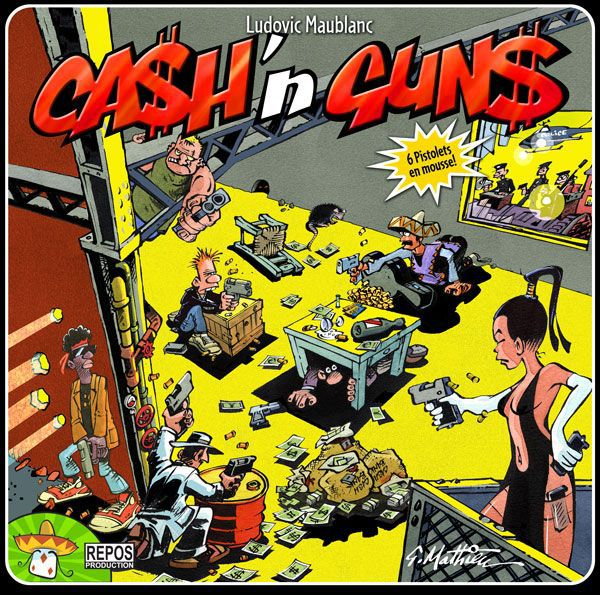 настольная игра Ca$h 'n Gun$ Ca $ h 'n Gun $