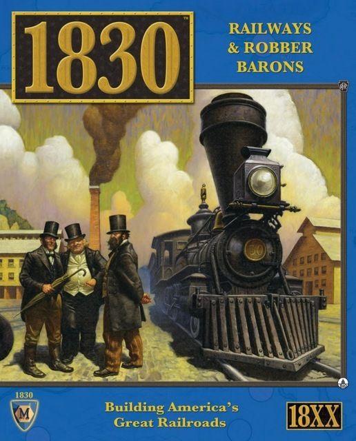 настольная игра 1830: Railways & Robber Barons 1830: железные дороги и бароны-разбойники