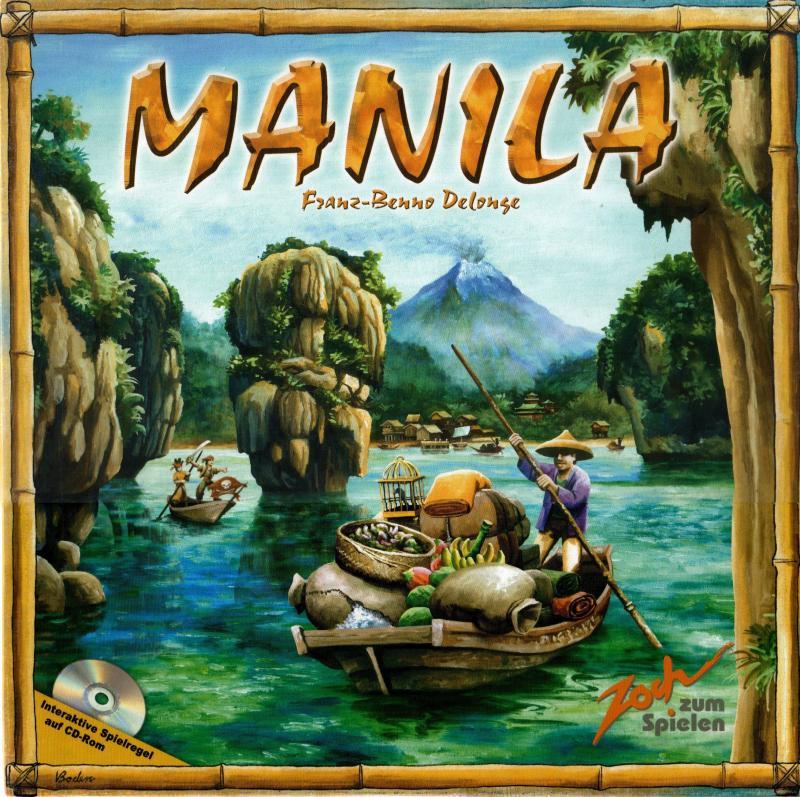 настольная игра Manila Манила