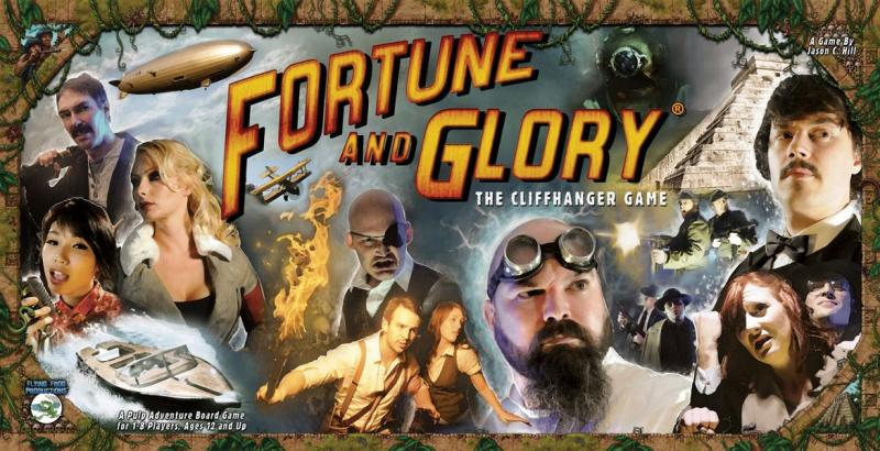 настольная игра Fortune and Glory: The Cliffhanger Game Удача и слава: игра Cliffhanger
