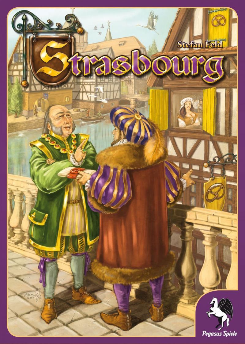 настольная игра Strasbourg Страсбург