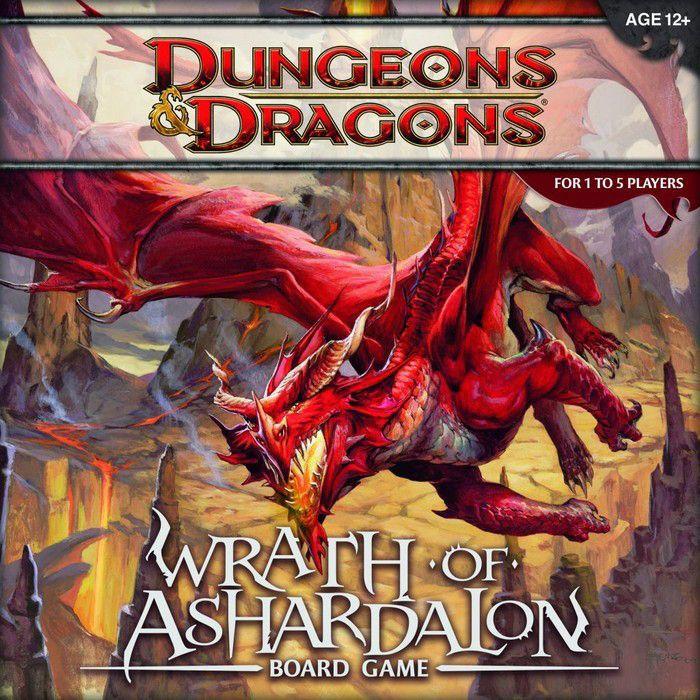 настольная игра Dungeons & Dragons: Wrath of Ashardalon Board Game Dungeons & Dragons: Wrath of Ashardalon Настольная игра
