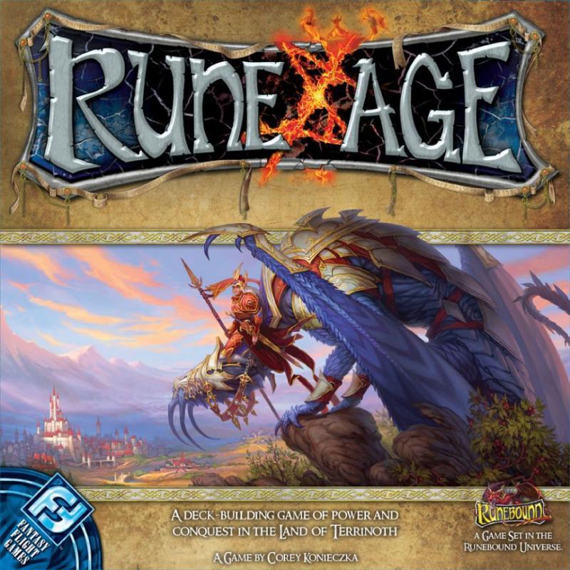 настольная игра Rune Age Рунический возраст