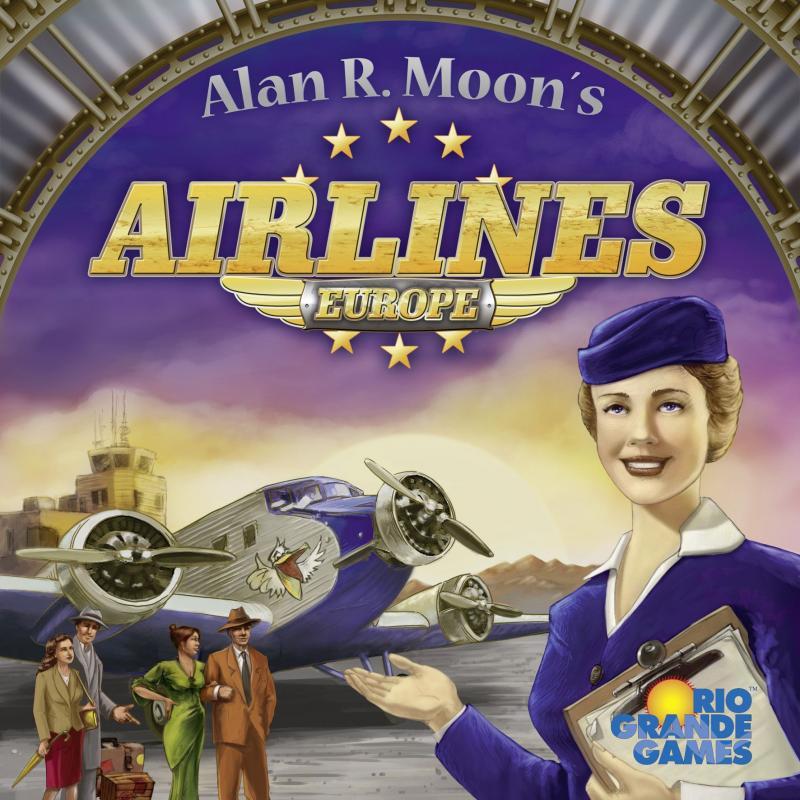 настольная игра Airlines Europe Авиакомпании Европы