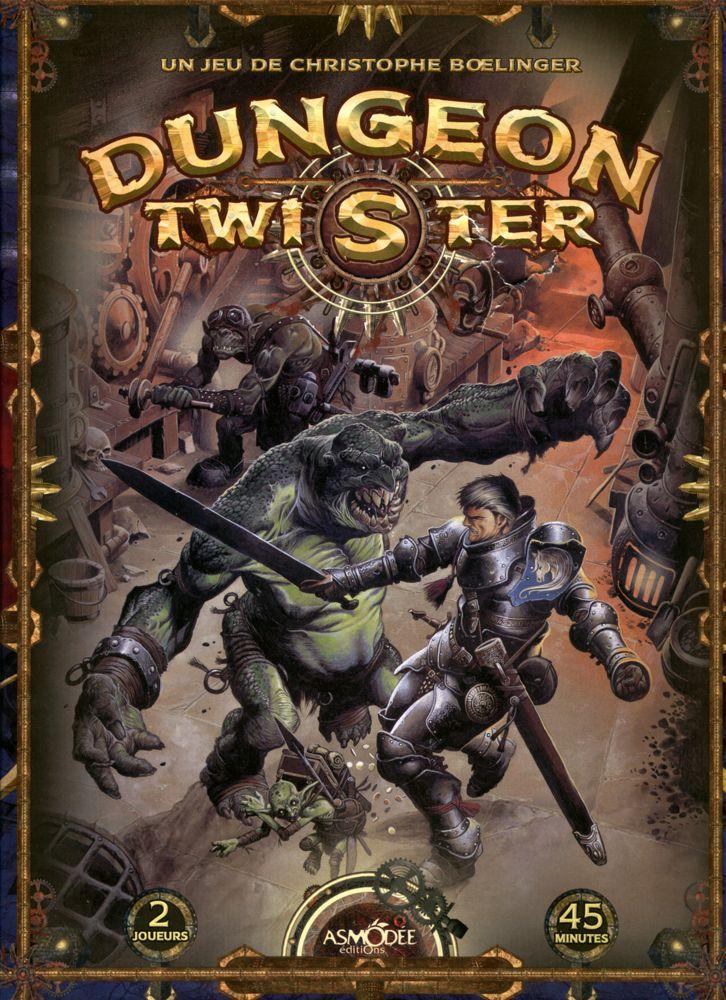 настольная игра Dungeon Twister Подземелье твистер