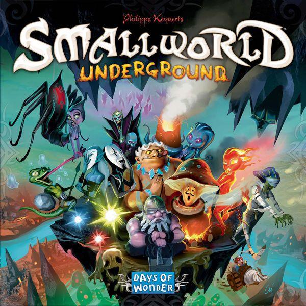 настольная игра Small World Underground Маленький Мир Подземный