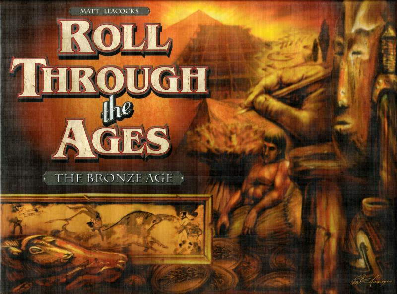 настольная игра Roll Through the Ages: The Bronze Age Ролл сквозь века: бронзовый век