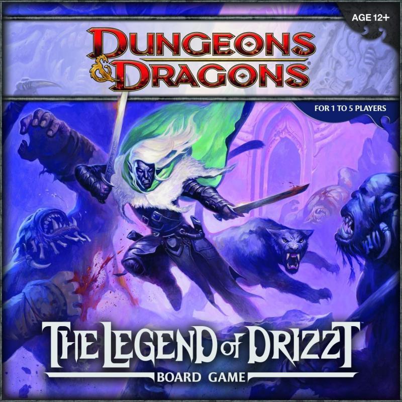 настольная игра Dungeons & Dragons: The Legend of Drizzt Board Game Dungeons & Dragons: Легенда о Дриззте Настольная игра