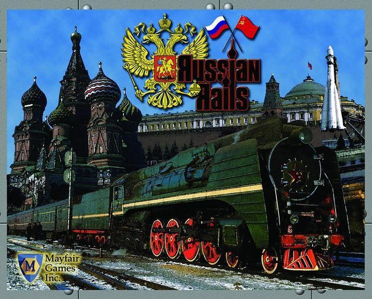 настольная игра Russian Rails