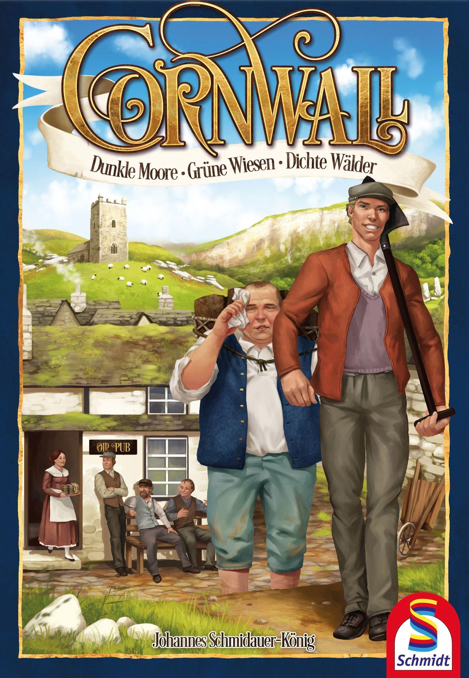 настольная игра Cornwall Корнуолл