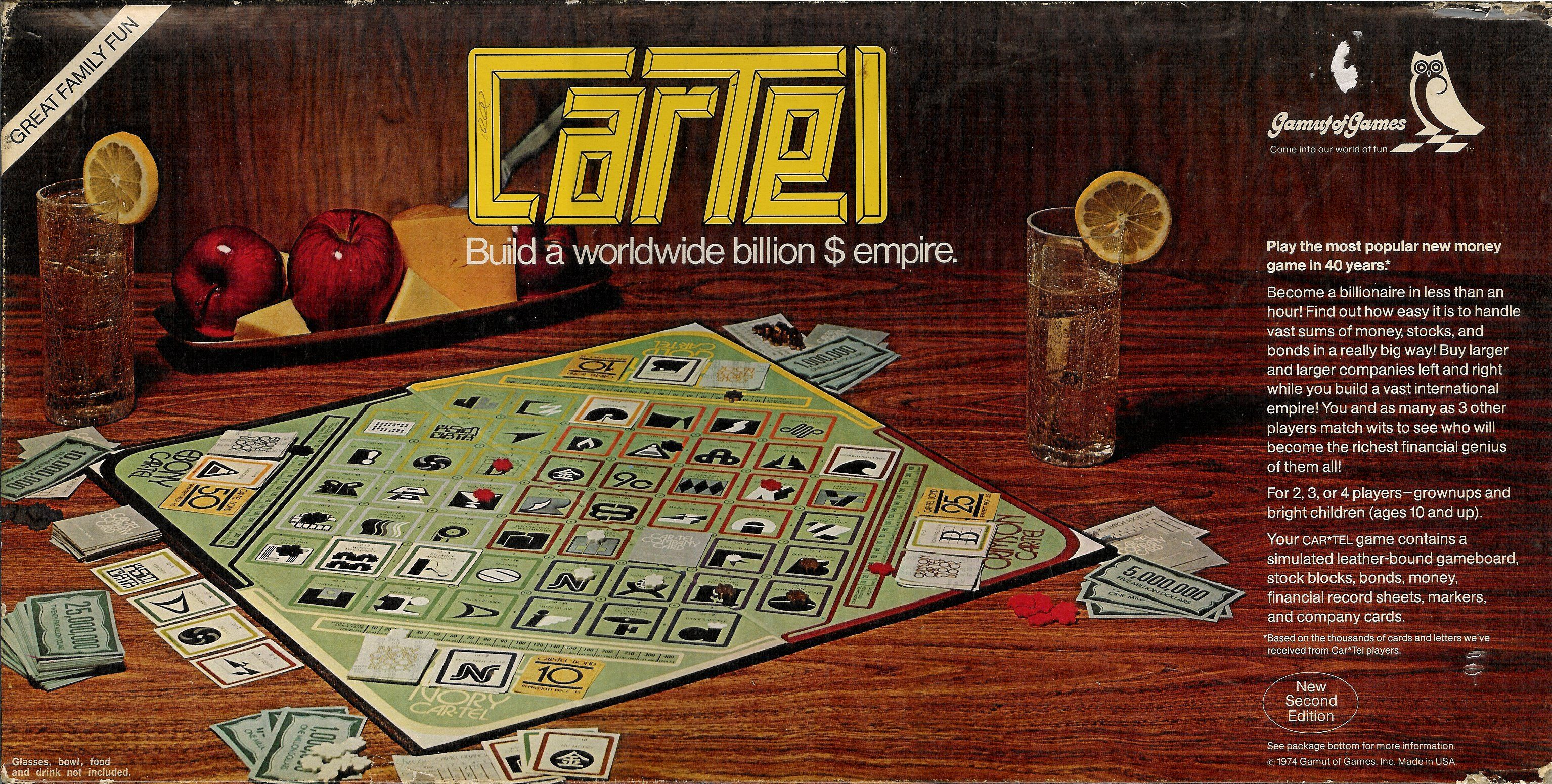 настольная игра Cartel Картель