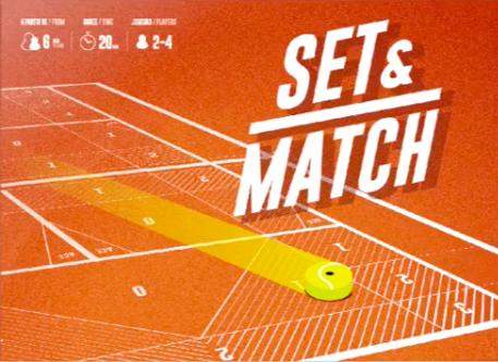 настольная игра Set & Match Установить и сопоставить